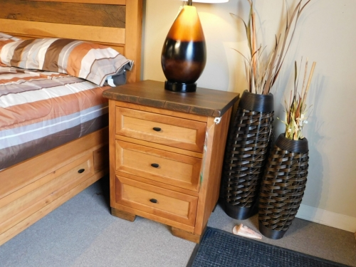 Farmhouse Heritage 3-Drawer Nightstand