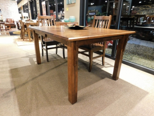 Shaker Top Table with Champhered Edge