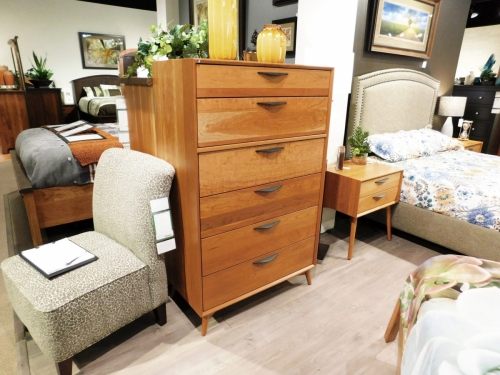 Kenton Tall Chest with 6 Drawers
