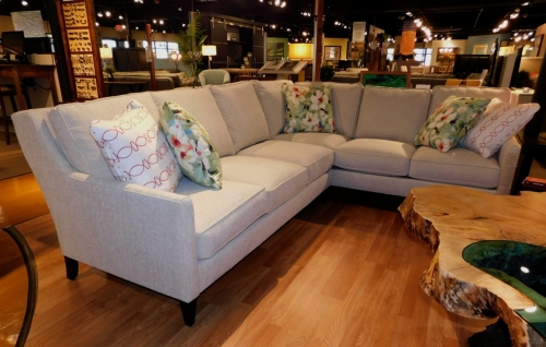 Andee 2-Piece Sectional with Pillows