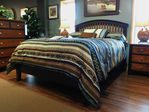 Cambrai Mission Bed with Low Footboard