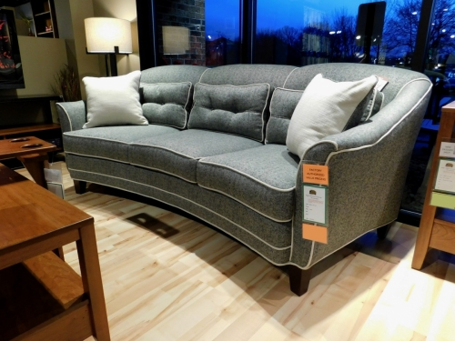 Doris II Conversation Sofa with Pillows