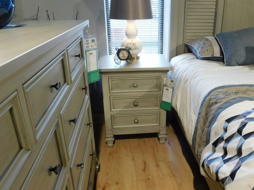 Legacy Village 3-Drawer Nightstand