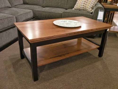 Two-Tone Shaker Coffee Table