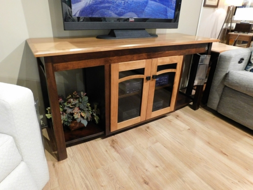 Madison Bow Double TV Stand