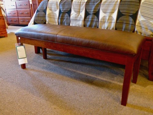 Padded Bench with Shaker Legs