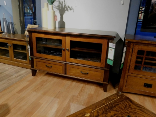 Plymouth TV Stand with Splayed Base