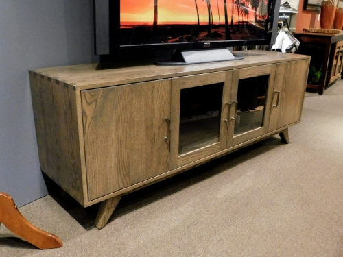 TV Console with Box Joints