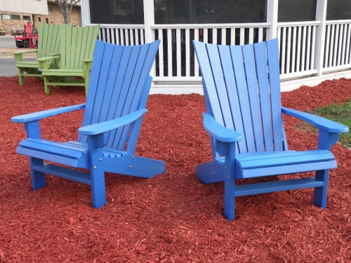 Island Aire Staitionary Adirondack Chairs