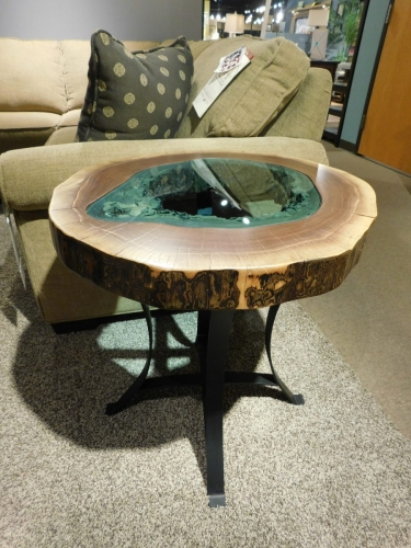 SOLD - Round Lake End Table