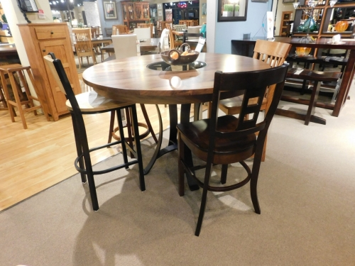 Salt Creek Tables - Round Golden Gate Bistro Table