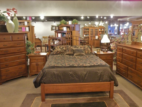 Double Bow Bed