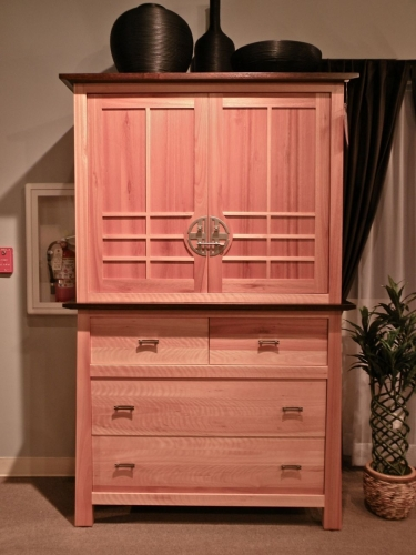Olbrich Gardens Media Chest with Lower Drawers