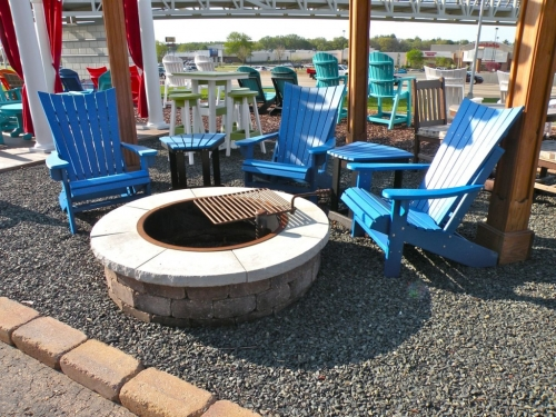 Island Aire Staitionary Adirondack Chair