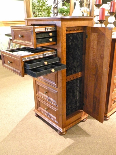 Yoder's Woodworking - Canyon Creek Jewelry Box with Hidden Drawers