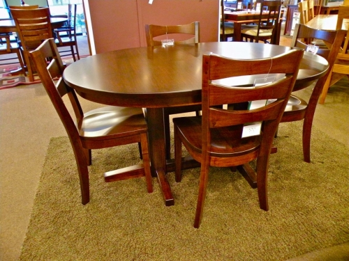Salt Creek Tables - Madison Double Pedestal Oval Table