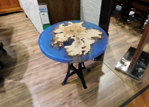 Round Island End Table