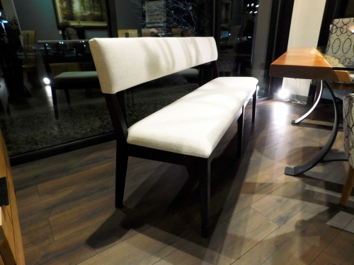 Chevron Bench with Padded Bench and Seat
