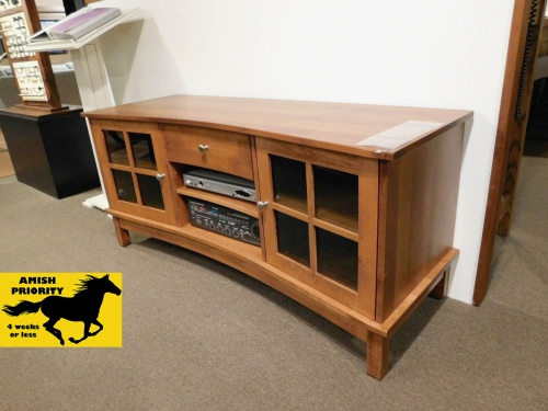 Concave TV Stand