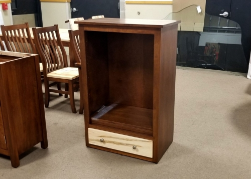Custom Shaker Bookcase with Drawer
