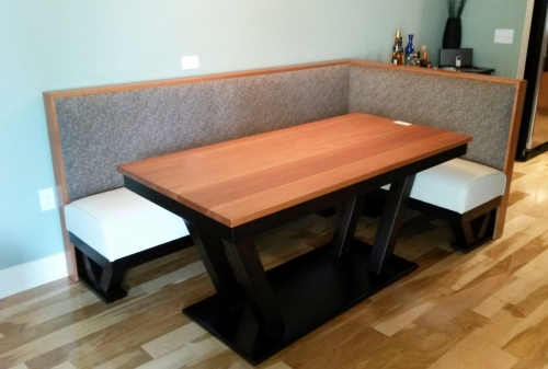 Specially Installed Custom Dining Nook with Table