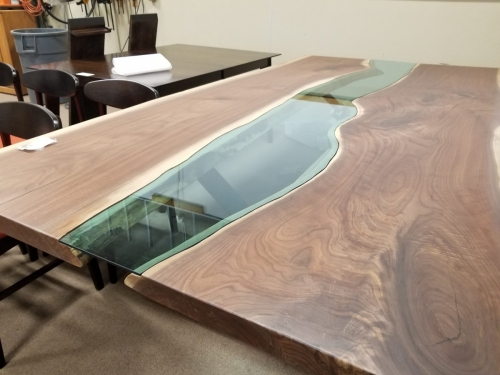 SOLD Custom River Table