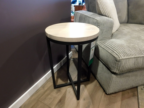 "Irondale 18"" Round End Table"