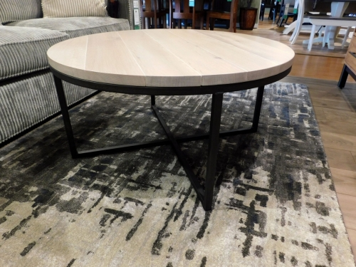 "Irondale 40"" Round Coffee Table"