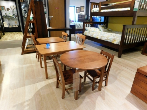 Stocked Child's Tables & Chairs