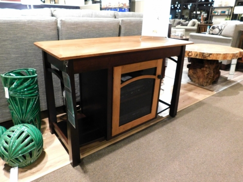Madison Bow Single TV Stand