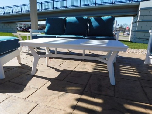 Mayhew Outdoor Rectangular Coffee Table