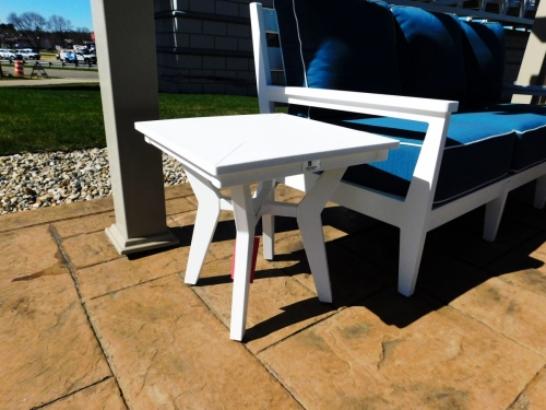 Mayhew Outdoor Square End Table