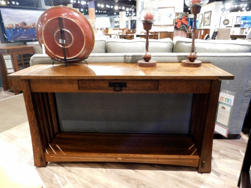 Mesa Sofa Table with Inlay
