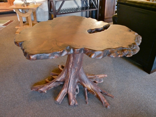 SOLD Roots Foyer Table