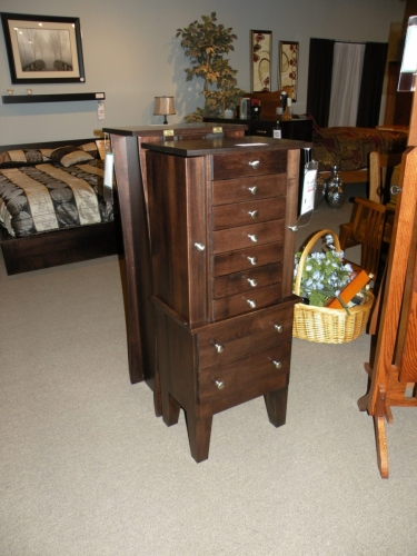 Shaker Style Jewelry Armoire