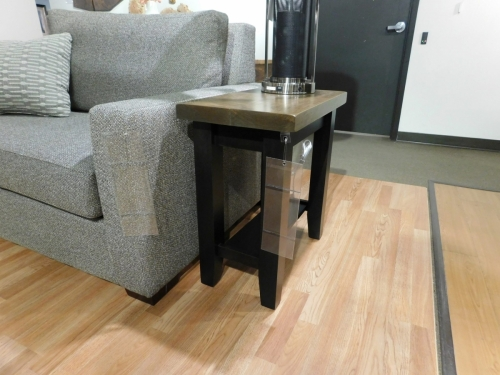 Plank Contemporary Small End Table