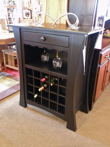 Hoosier Crafts - Arts & Crafts Wine Cabinet
