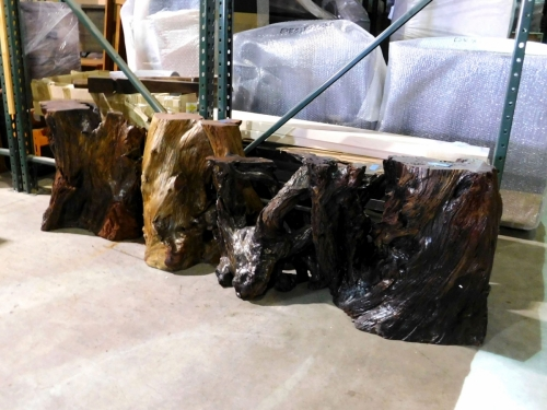 SOLD - Assorted Redwood Stumps
