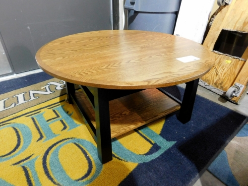 Madison Bow Round Coffee Table