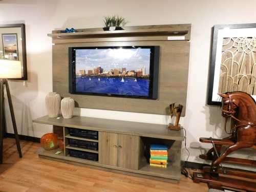 Seneca TV Stand and Wall Panel