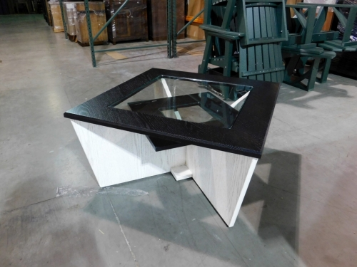 Solitaire Square Coffee Table