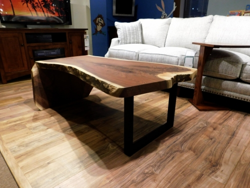 SOLD Walnut Waterfall Coffee Table